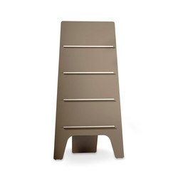 Leaf magazine board | Magazine shelves | Cascando