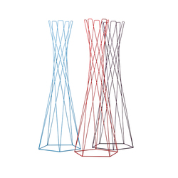 Basket coat stand | Percheros de pié | Cascando