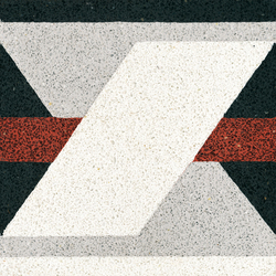 Terrazzoplatte | Bodenfliesen | VIA