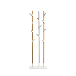 Bamboo 3 coat stand | Freestanding wardrobes | Cascando