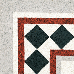 Terrazzo corner tile | Concrete/cement flooring | VIA