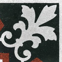 Terrazzo corner tile | Terrazzo tiles | VIA