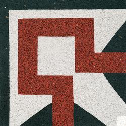 Terrazzo corner tile | Floor tiles | VIA