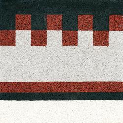 Terrazzo edge tile | Pavimenti in calcestruzzo/cemento | VIA
