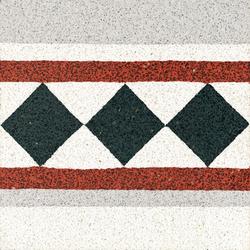 Terrazzo edge tile | Concrete/cement flooring | VIA