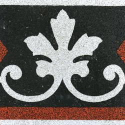 Terrazzo edge tile | Sols en béton/ciment | VIA