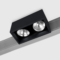 Prologe 145 on-Regule Double/Fluo Dimmable | Éclairage sur rails | Kreon