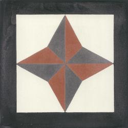 Zementmosaikplatte | Bodenfliesen | VIA
