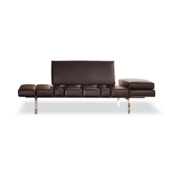Smith Lounge System | Chaise longues | Minotti