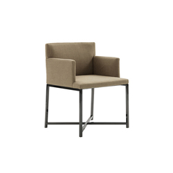 Flynt | Visitors chairs / Side chairs | Minotti