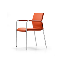 LEO Chair | Visitors chairs / Side chairs | Girsberger