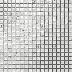 Air White Silver Decor | Mosaike | Porcelanosa