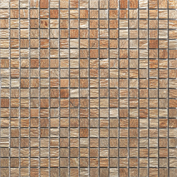 Anticato Bhutan Copper | Natural stone mosaics | Porcelanosa