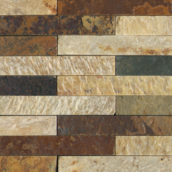 Anticato Brick Lhasa Shanan Neepal | Mosaici pietra naturale | Porcelanosa