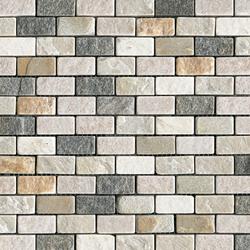Anticato Brick Lhasa Shanan Burma | Natural stone mosaics | Porcelanosa