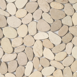 Anticato Lake Stone Blanco | Mosaïques en pierre naturelle | Porcelanosa