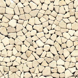 Anticato Mini Broken Edge Blanco | Mosaicos de piedra natural | Porcelanosa