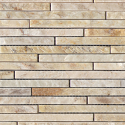 Anticato Mini Strip Lhasa | Mosaici pietra naturale | Porcelanosa