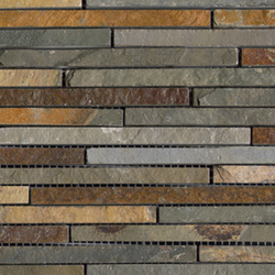 Anticato Mini Strip Nepal | Natural stone mosaics | Porcelanosa