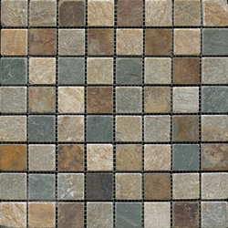 Anticato Multicolor Slate | Mosaïques en pierre naturelle | Porcelanosa