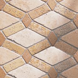Anticato Saqqara Moka Albero | Natural stone mosaics | Porcelanosa