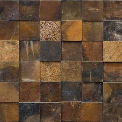 Anticato Shapes Nepal | Natural stone mosaics | Porcelanosa