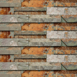 Brick Wall Nepal | Mosaïques en pierre naturelle | Porcelanosa