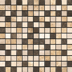 Classico Browns 2x2 | Mosaïques en pierre naturelle | Porcelanosa