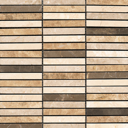 Classico Linear Browns 10 | Mosaïques en pierre naturelle | Porcelanosa