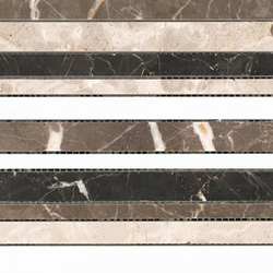 Classico Multicolor Strip | Natural stone mosaics | Porcelanosa