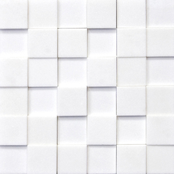Classico Shapes Blanco Thassos | Facade cladding | Porcelanosa