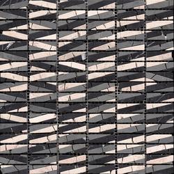 Classico Safari Negro Crema | Mosaïques en pierre naturelle | Porcelanosa