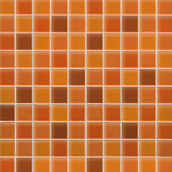 Mosaico Crystal Orange | Ceramic mosaics | Porcelanosa