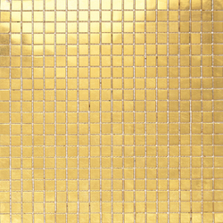 Fashion Gold 1x1 | Glass mosaics | Porcelanosa