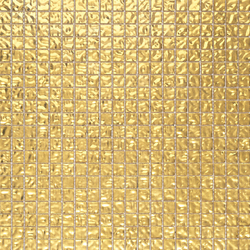 Fashion Gold Wavy 1x1 | Glass mosaics | Porcelanosa