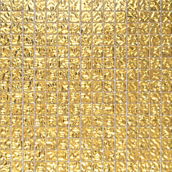 Fashion Gold Wavy 2-3x2-3 | Glass mosaics | Porcelanosa