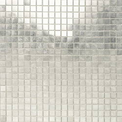 Fashion Gold -White 1x1 | Glass mosaics | Porcelanosa