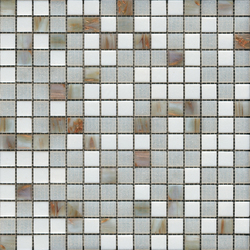 Fashion Mix A Gold Whites | Mosaicos de vidrio | Porcelanosa