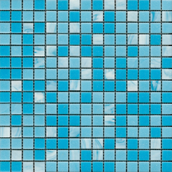 Fashion Mix B Blues | Mosaicos de vidrio | Porcelanosa