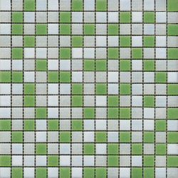 Fashion Mix C White Green | Mosaïques en verre | Porcelanosa