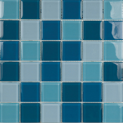 Glacier Mix Azules 5x5 | Glass mosaics | Porcelanosa