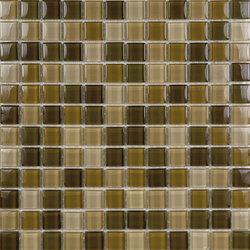Glacier Mix Tierra 2-3x2-3 | Glass mosaics | Porcelanosa