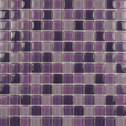 Glacier Mix Lilas 2-3x2-3 | Glass mosaics | Porcelanosa