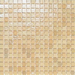 Mini Iris Bone | Glass mosaics | Porcelanosa
