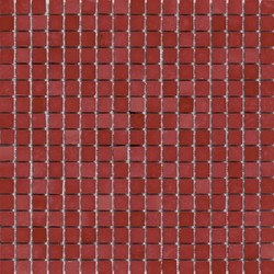 Mini Iris Red | Glass mosaics | Porcelanosa