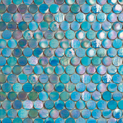 Island Cold Circle | Glass mosaics | Porcelanosa