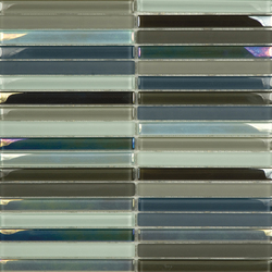 Metallic Glacier Mix Cremas 1-5x14-8 | Glass mosaics | Porcelanosa