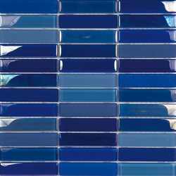 Metallic Glacier Mix Marinos 2-3x9-8 | Glass mosaics | Porcelanosa