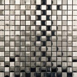 Noohn Metal Mosaics Acero 2x2 | Mosaïques en métal | Porcelanosa