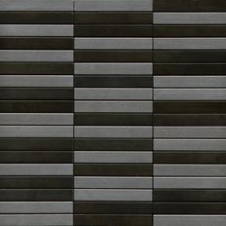 Noohn Metal Mosaics Acero Niquel | Mosaicos de metal | Porcelanosa